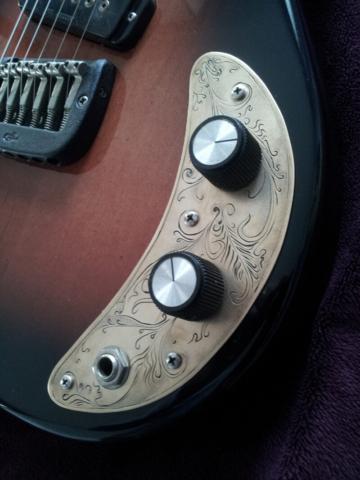 G&L SC1.1 Control plate