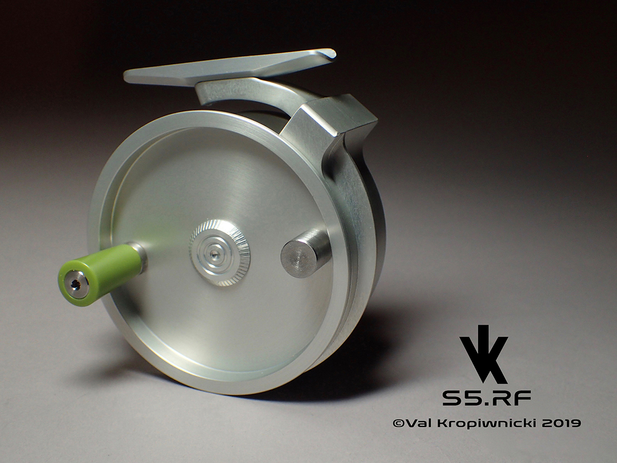 """VK-S5.RF """"Clear Anodized"""""""