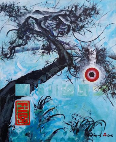 "Filco 3. Wantsville Things, acrylic 30""x40"""