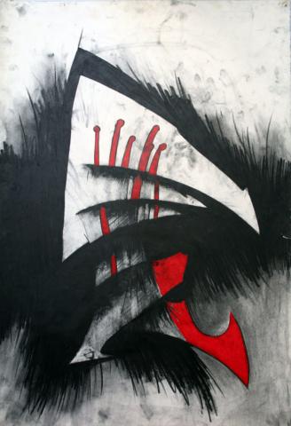 "the Son, charcoal, crayon 26""x40"".jpg"